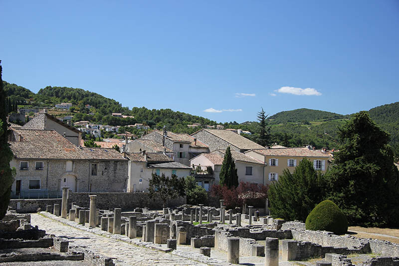 Roman Ruins in Vaison la Romaine, Provence, France