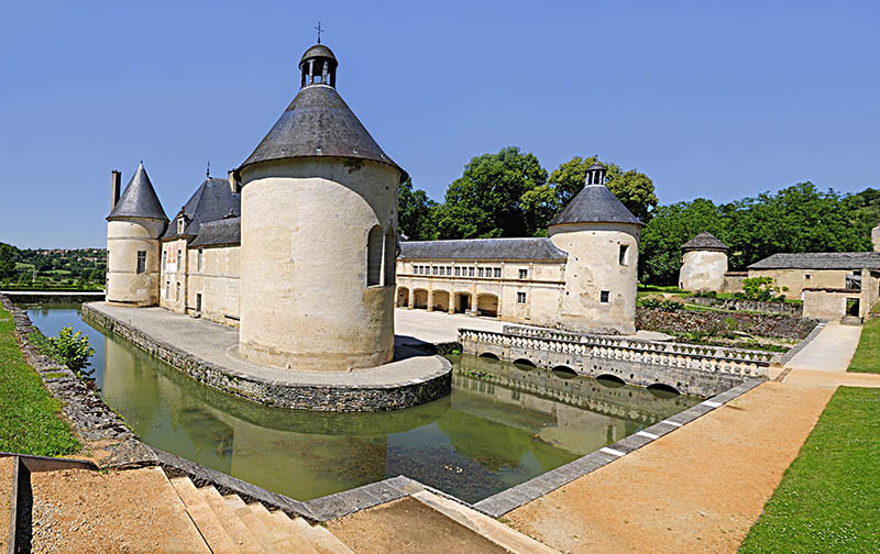French Chateau of Bussy Rabutin in Burgundy France.; Shutterstock ID 87240949; PO: Michelin