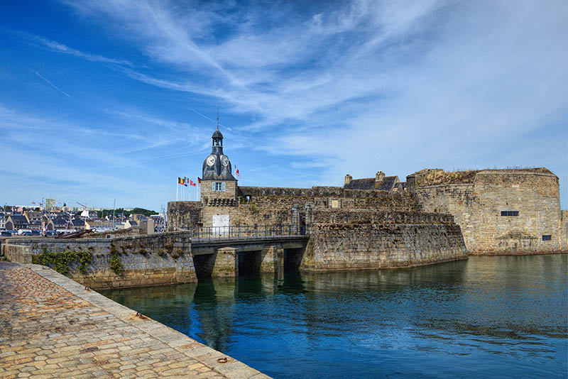 Concarneau  Walled City in Brittany