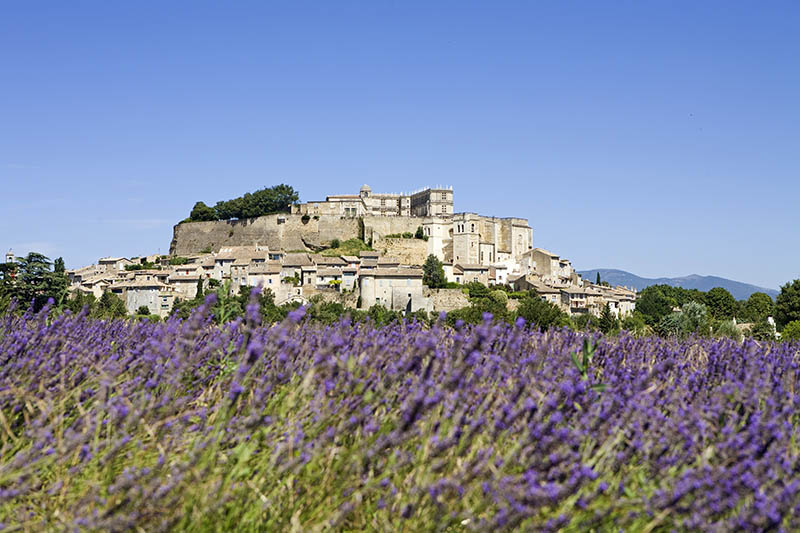 France, Provence, Drome, city of Grignan which castle was writer Madame de Sevigne property