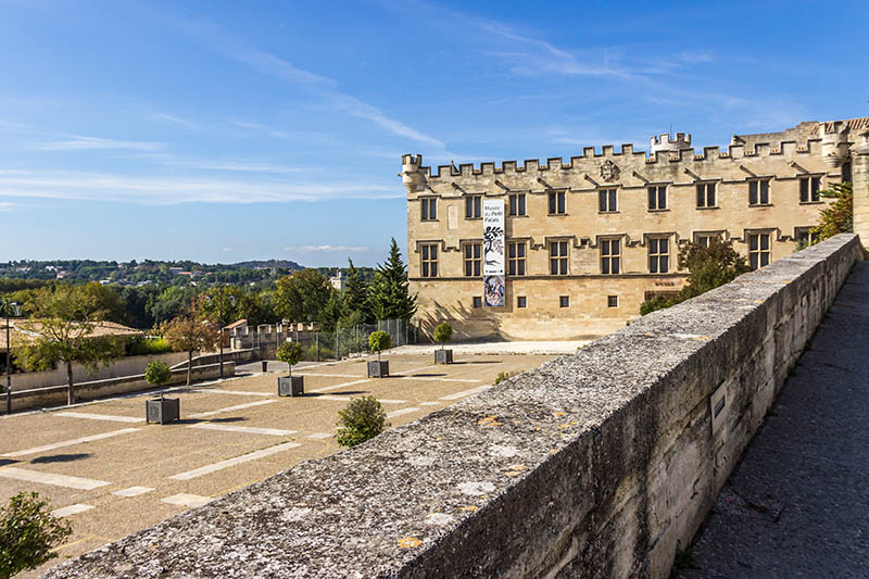 Avignon, France - September 20, 2016: Musee Du Petit Palais near Pope palace in Avignon, France