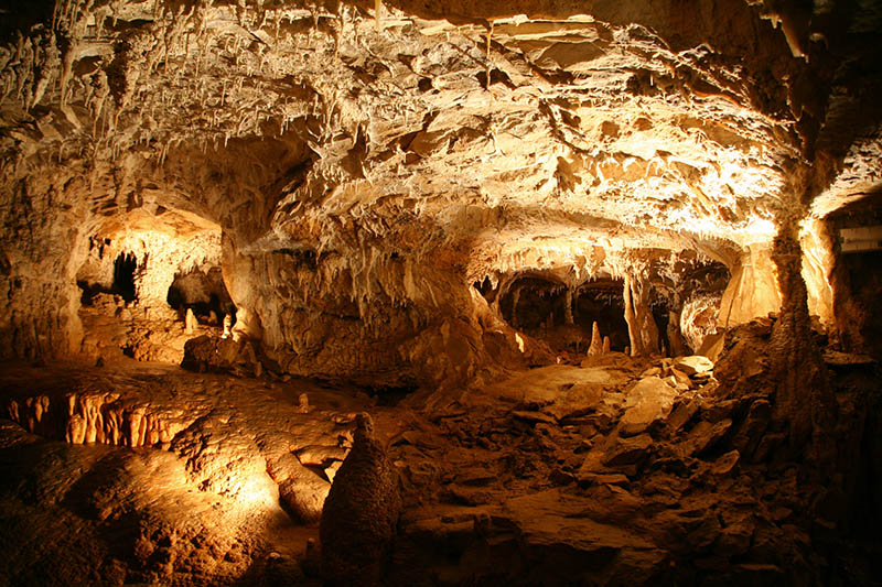 Choranche Caves near Grenoble, France