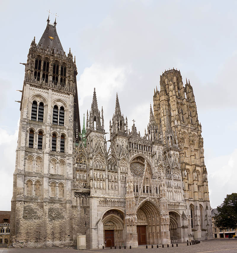 Cathedral of Rouen in Normandy