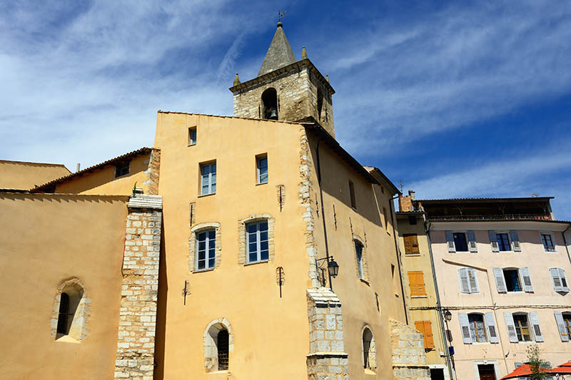 The Beautiful Medieval Village Riez, Provence, France
