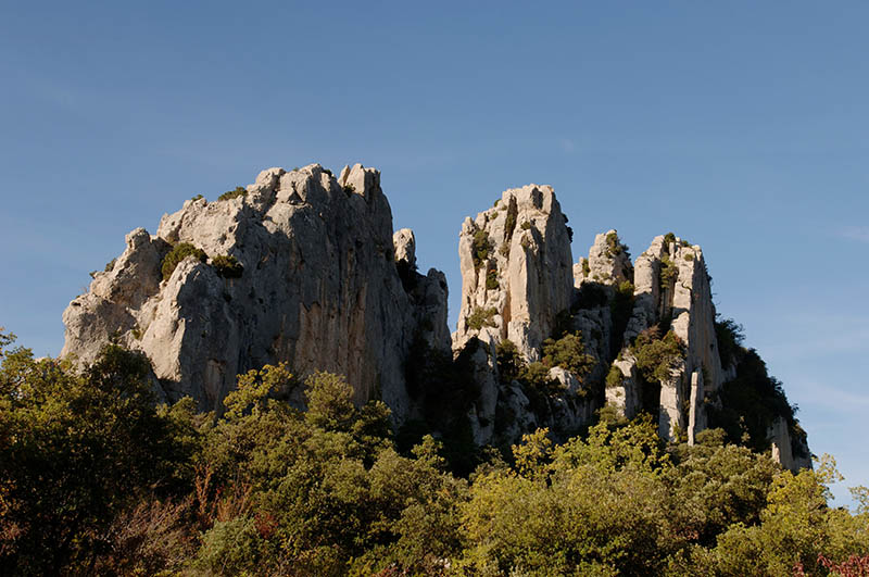 the rocks of St Julien, France