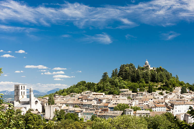 Forcalquier, Provence, France.