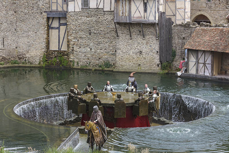 France, Vendée (85), Les Epesses, Parc du Puy du Fou, spectacle des chevaliers de la table ronde