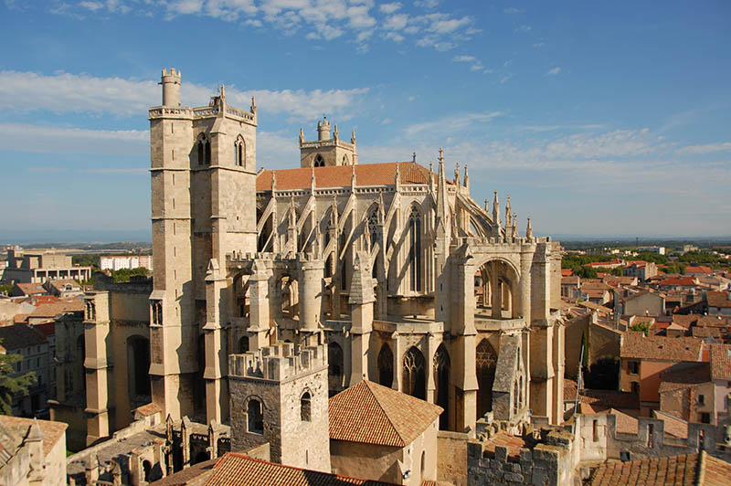 Cathedral St Just and Pasteur of Narbonne, Languedoc Roussillon, France