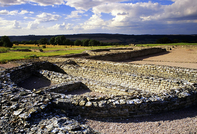 site of alesia gallo-roman remains burgundy france