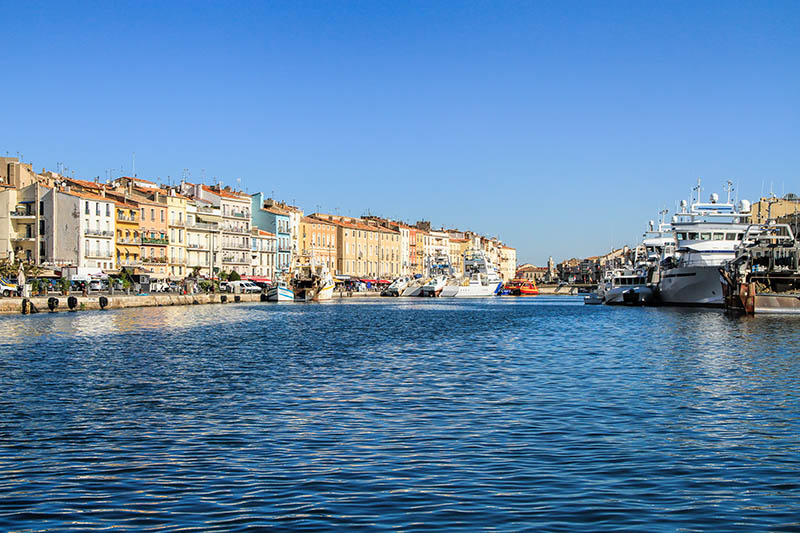 Sete -  fascinating small town on the French Mediterranean coast  known as the Venice of Languedoc