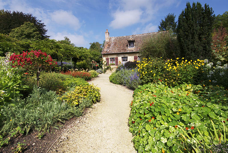 France, Centre, Loire Valley, Gardens of Park Floral at Apremont-sur-Allier.