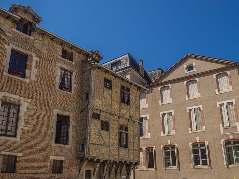 Cahors is the capital of the Lot department in south-western France.